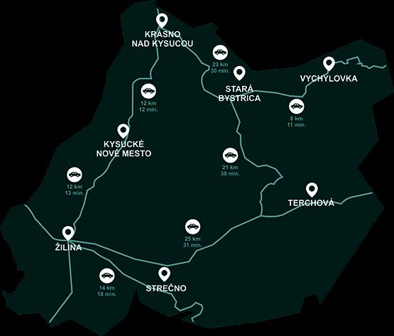 Areas to explore