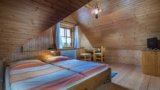 Twin-bedded room with extra bed