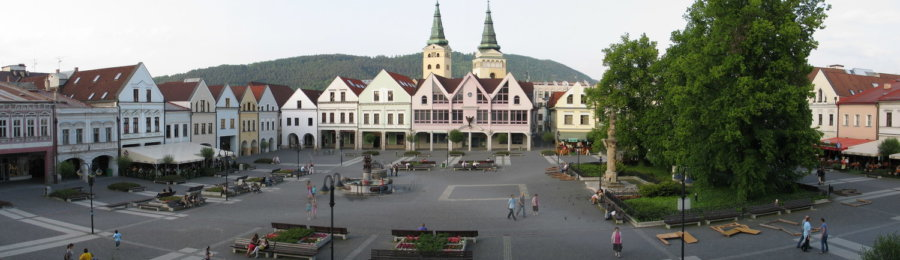 The historic centre of Žilina