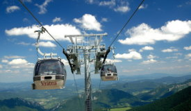 Vrátna – Chleb cable car ride