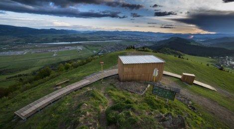 Prístrešok a lávka na Straníku boli nominované na cenu za architektúru
