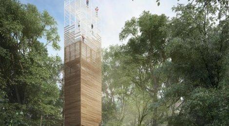 Vyhliadková veža na Dubni